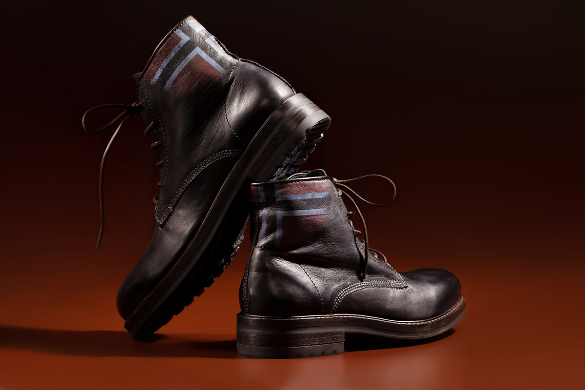 Diesel shoes scarpe campaign still-life studio shoot