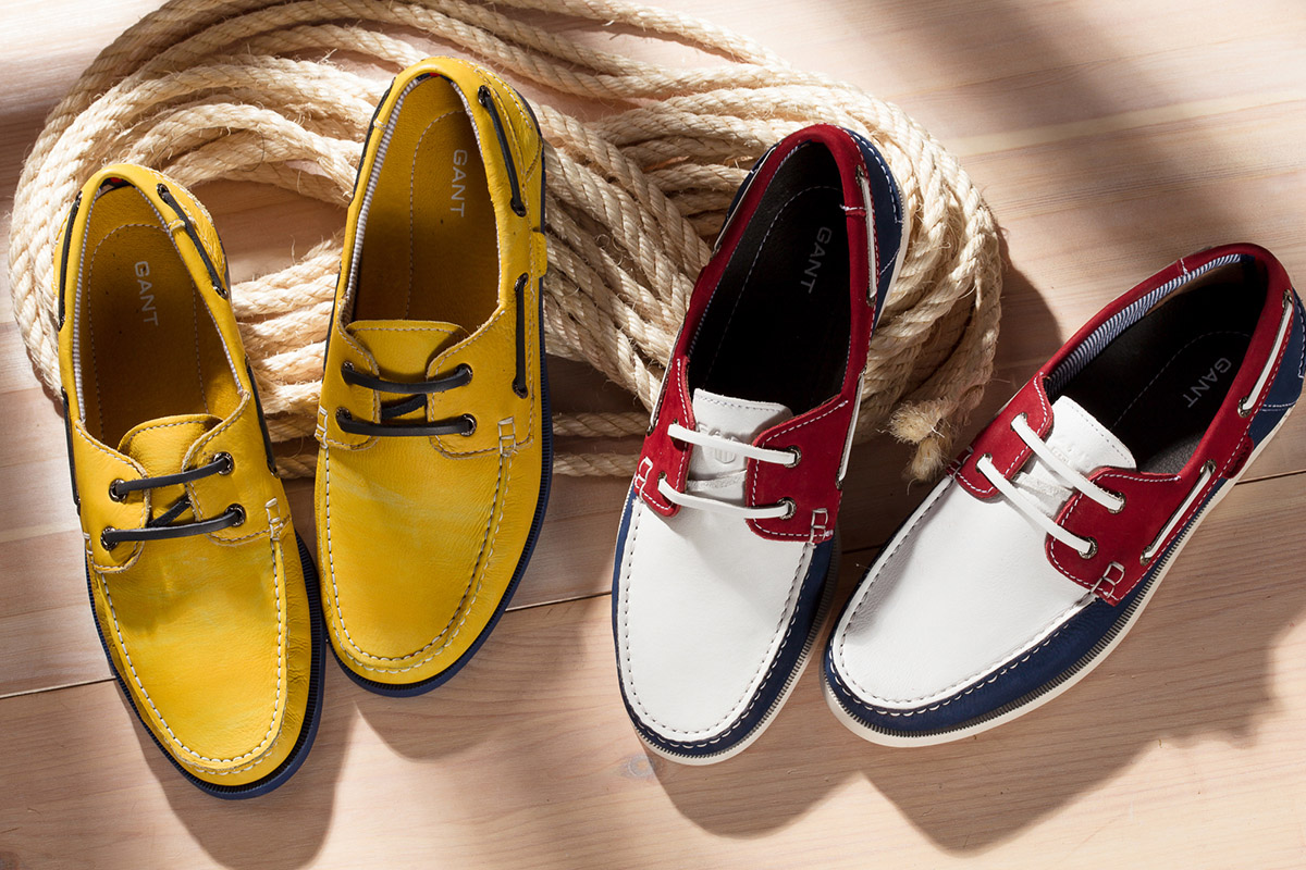 GANT shoes scarpe campaign still-life