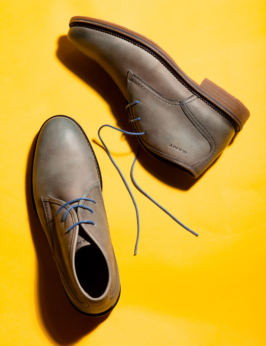 GANT shoes scarpe campaign still-life studio shoot