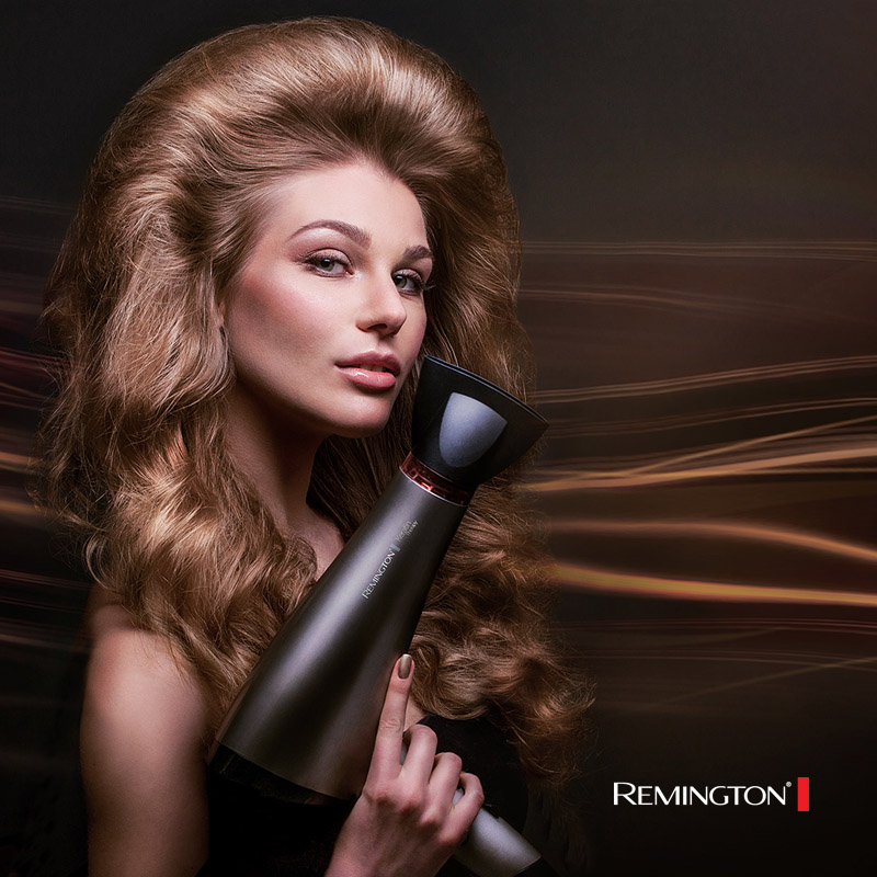 Remington hairdresser campaign still-life studio shoot