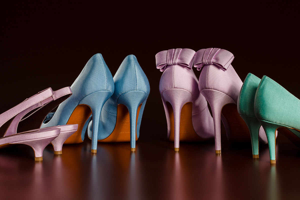 Vero Cuolo shoes scarpe campaign still-life studio shoot