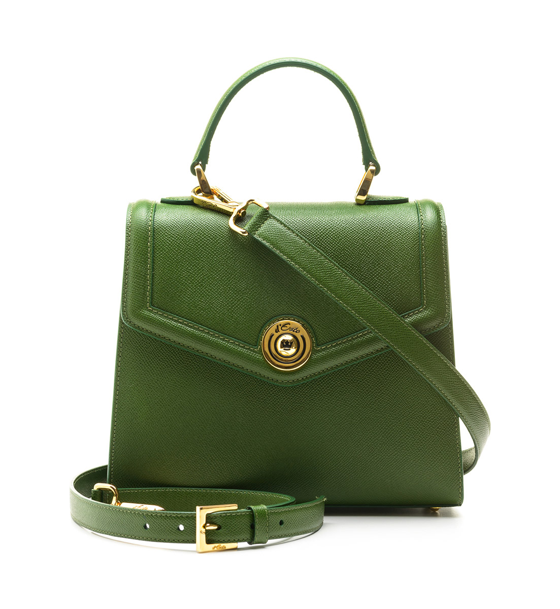 D'Este Monaco Green bag borse e-commerce still-life