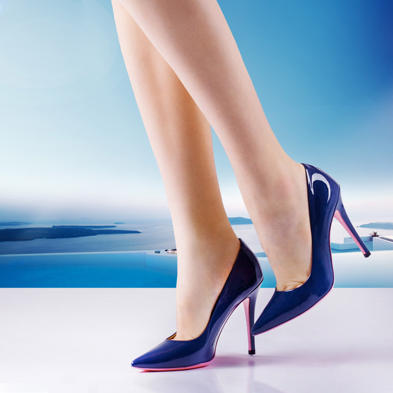 Woman shoes scarpe campaign still-life